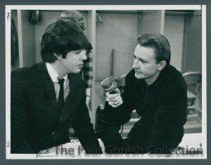 20 августа 1965  Чикаго У Пола берет интервью журналист Реб Фостер (Reb Foster)