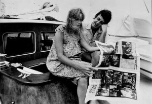 * Paul McCartney and Wings, Virgin Islands / May 1977 *