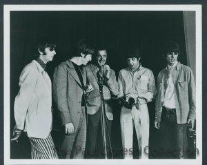 24 августа 1966 Capitol Records Tower, Лос-Анджелес With Robert Vaughn, man From U.N.C.L.E.