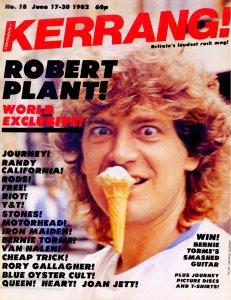 Kerrang! 17 June 1982