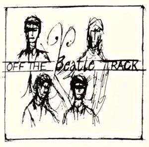 * In February 1963 the Beatles were busy finishing their debut album at EMI Studios in Abbey Road. Mike McCartney saved this sketch by Paul for the cover, which shows the album's working title, Off The Beatle Track. That ended up being the name of an instrumental album by George Martin the following year...