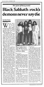 Rolling Stone 19 October 1978