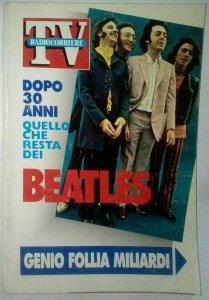 DOPO 30 ANNI QUELLO CHE RESTA DEI BEATLES  1992