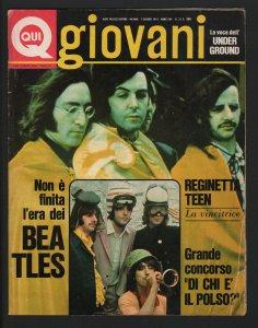 QUI GIOVANI  7 июня 1973 №23