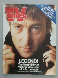 TV Times  29 ноября - 5 декабря 1986