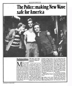 Rolling Stone 7 February 1980