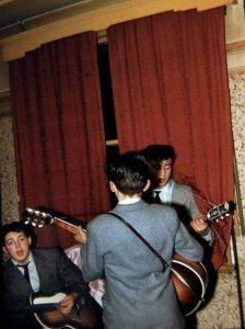 Daily Beatle сообщает: ещё одно цветное фото из 1958 г.