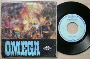 SP Omega Group - Pearls In Her Hair / Petroleum Lantern (Pepita, 1970).
