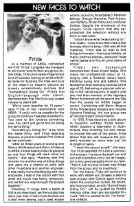 Новые имена  Cash Box 13 November 1982