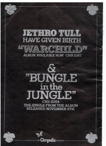 Пластинка удивительная. И насчёт сингла и хита, таки да, Bungle in the Jungle :))