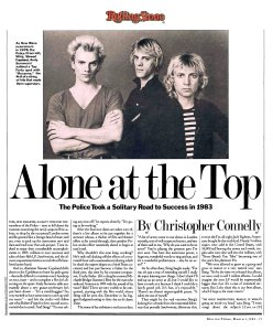 The Police (+Sting)