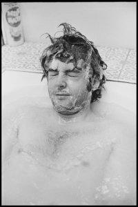 In the bath. London, 1969. Photo by Linda McCartney #ThrowbackThursday #TBT