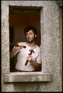 Paul in Scotland. Photo by Linda McCartney #ThrowbackThursday #TBT