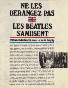 Из журнала Salut les Copains  ноябрь 1968 N°75