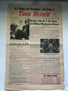 Teen Herald  21 сентября 1964 №1