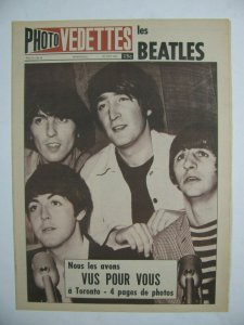 Photo VEDETTES за 28 августа 1965