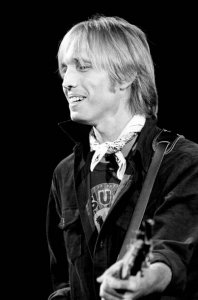 Tom Petty  during the 1979 Damn the Torpedoes Tour on Novmeber 16, 1979 at the Masonic Temple Theatre in Detroit, Michigan