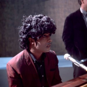 Little Richard while touring Europe in London, England, November 1966