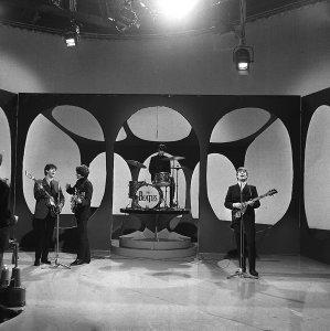 1963.12.02 – Borehamwood.  ATV's Elstree Studio Centre New