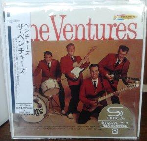 Вот добавленный.  Ventures - The Ventures 1961 (Mono/Stereo) UICY-77803