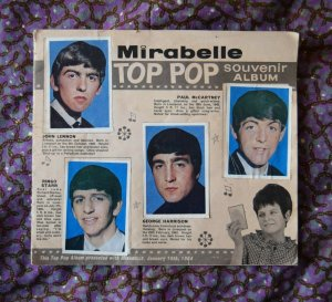 Mirabelle Top Pop souvenir album  январь 1964
