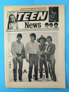 TEEN NEWS  1965 VOLUME 1 NUMBER 2