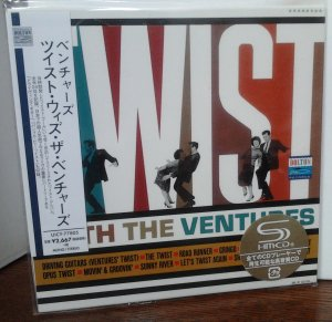 Ventures - Twist With the Ventures (Mono/Stereo) UICY-77805