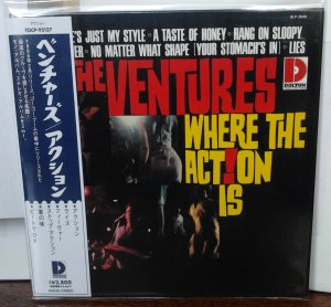 Ventures - Where the Action Is! (Mono/Stereo) TOCP-95137
