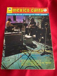 MEXICO CANTA  май 1971