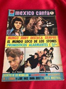 MEXICO CANTA  март 1971