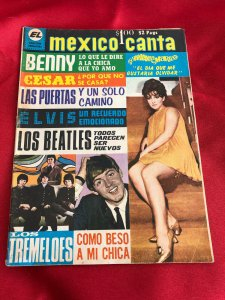 MEXICO CANTA  октябрь 1968