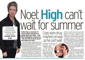 Ждёт с нетерпением.  Daily Mirror сегодня.