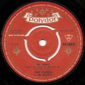 Сингл My Bonnie с указанием The Beatles был выпущен (стараниями Брайана) британским филиалом фирмы Полидор 5 января 1962 года. До этого этот сингл выходил в Германии, но The Beatles там значились как The Beat Brothers. Вроде как до 5 января пластинок с именем The Beatles на ней не выходило.
