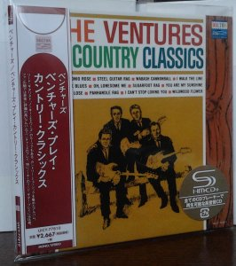 Ventures - The Ventures Play The Country Classics (Mono/Stereo) UICY-77810