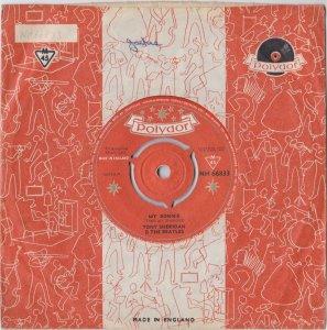 В комплект входит оригинальный конверт Polydor с именем Джеки и каталожным номером, написанным на одной стороне.