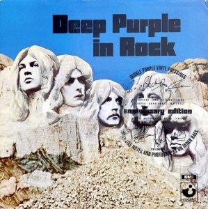 А переиздание In Rock в 1995 году, ну ка, гляньте на обложку, чья концепция и весь текст с историей создания альбома? Саймона Робинсона конечно!