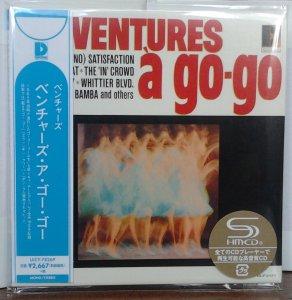 Без коробочки - россыпью. Ventures - The Ventures A Go-Go (Mono/Stereo) UICY-78269