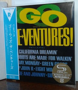 Ventures - Go With The Ventures! (Mono/Stereo) UICY-78271
