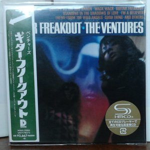 Ventures - Guitar Freakout (Mono/Stereo) UICY-78273