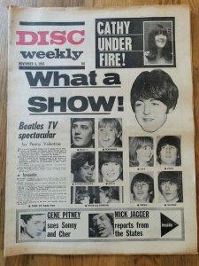 Disc Weekly  6 ноября 1965