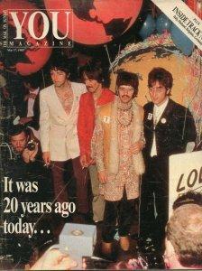 You Magazine  The Mail on Sunday  17 мая 1987