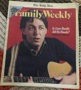 Daily Item Family Weekly  7 октября 1984