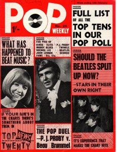 Pop Weekly  13 февраля 1965 №25