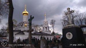 Путешествие в Пасхальную Москву Донской монастырь