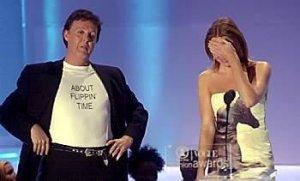 Ответка от папы на церемонии VH1/Vogue fashion awards.
