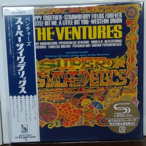 Ventures - Super Psychedelics (Mono/Stereo) UICY-78274