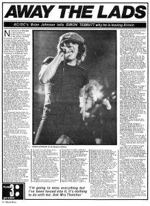Record Mirror 20 February 1982