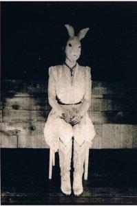 >c глазами кроликов  Кролик кролику глаз не выклюет!