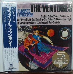 Ventures - Flights Of Fantasy (Mono/Stereo) UICY-78276