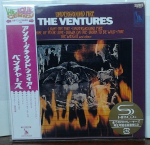 Ventures - Underground Fire (Stereo)  UICY-76210